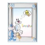 Εικόνα της BABY CAT-BIRD SILVER FRAME
